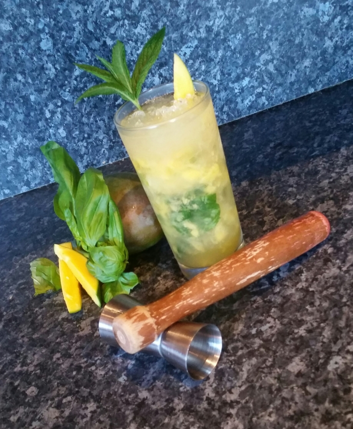 Mango and Basil mojito Recipe