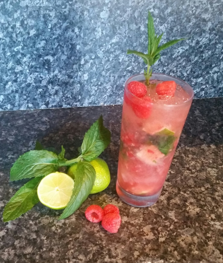 Raspberry mojito recipe