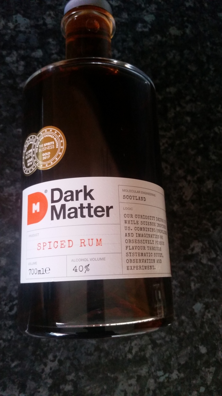Dark Matter rum. 4 rums you have to try