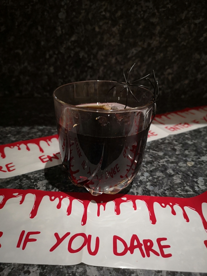Black russian with a spooky twist