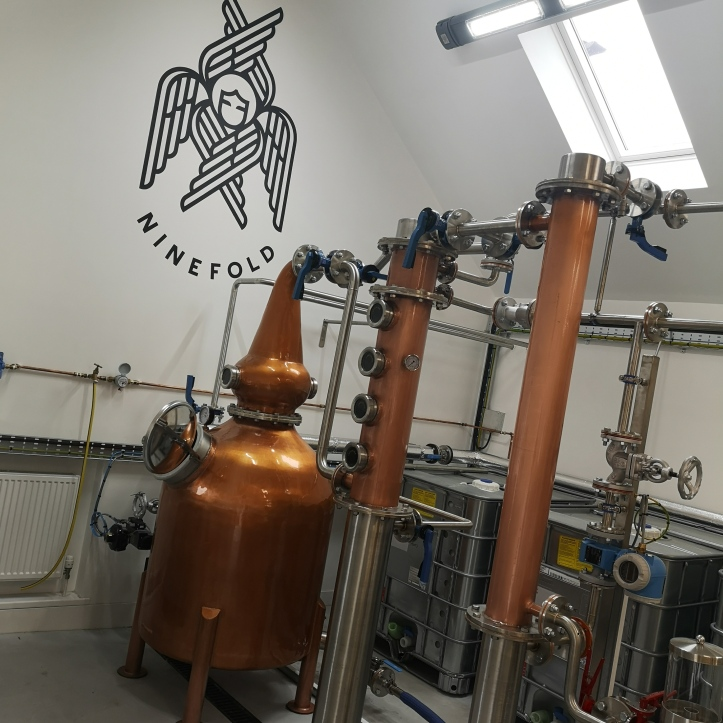 Scottish rum distillery
