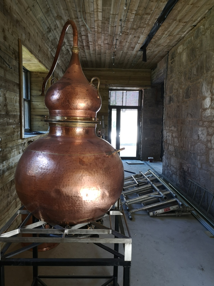 Stirling gin distillery